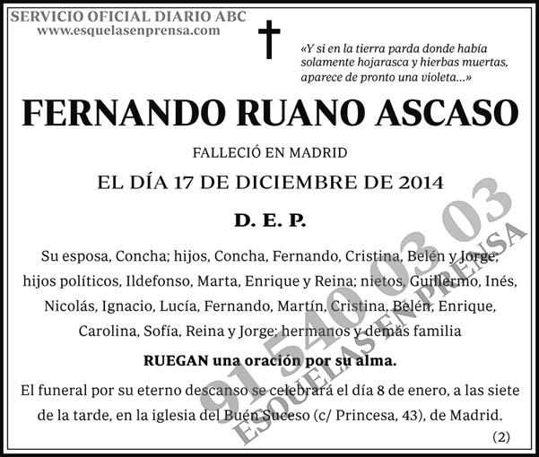 Fernando Ruano Ascaso